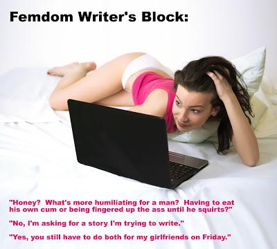 Femdom writer's block -2